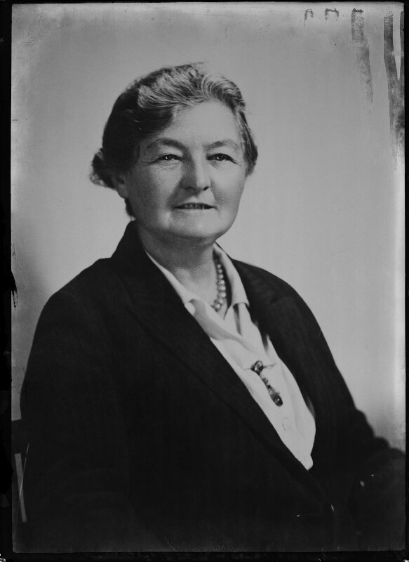 Margaret Grace Bondfield, copy by Elliott & Fry, 5 January 1948 - NPG x92795 - © National Portrait Gallery, London