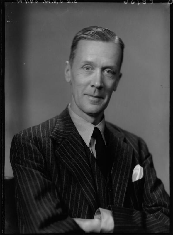 Sir John Valentine Wistar Shaw, By Elliott U0026 Fry, 25 November 1946   NPG