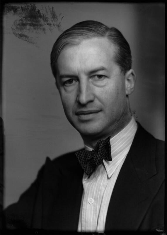 Philip Rowland Allison, by Elliott & Fry, 2 February 1948 - NPG x95379 - © National Portrait Gallery, London