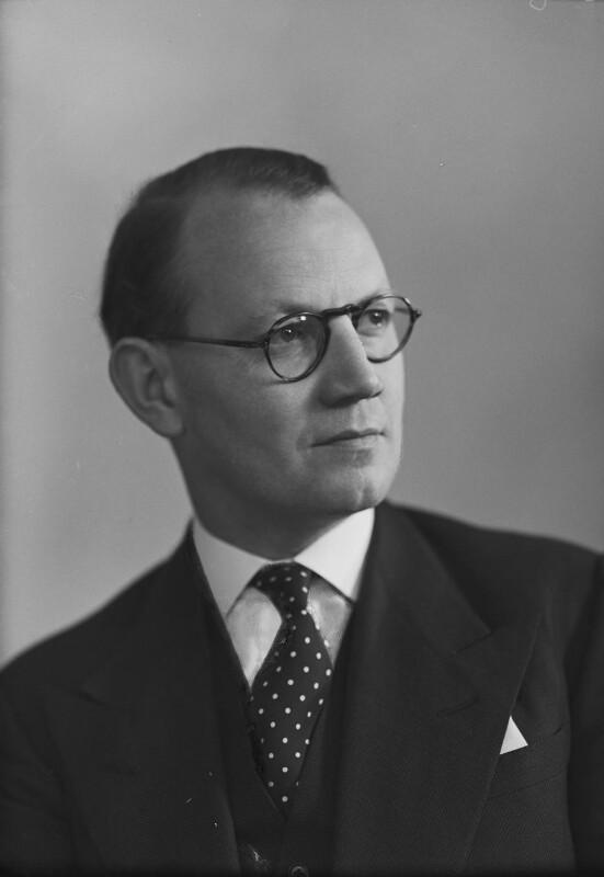 Austin Richard William ('Toby') Low, 1st Baron Aldington, by Elliott & Fry, 1950 - NPG x99209 - © National Portrait Gallery, London