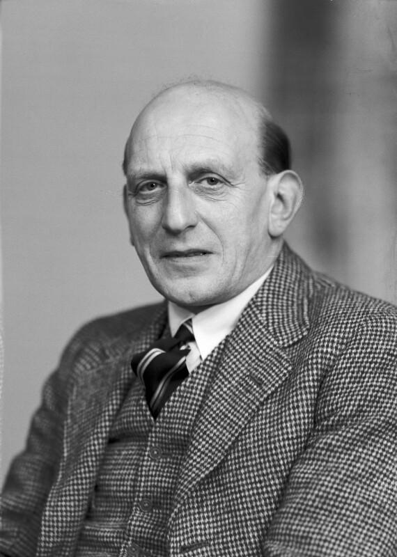 Harold Abrahams, by Elliott & Fry, 1950 - NPG x99350 - © National Portrait Gallery, London