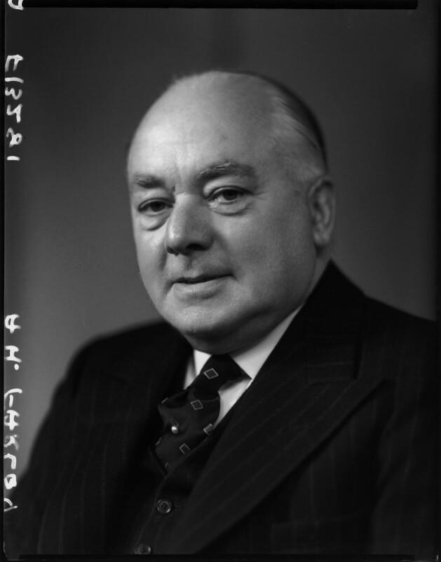 Albert Henry Farley, by Elliott & Fry, 25 October 1950 - NPG x99815 - © National Portrait Gallery, London