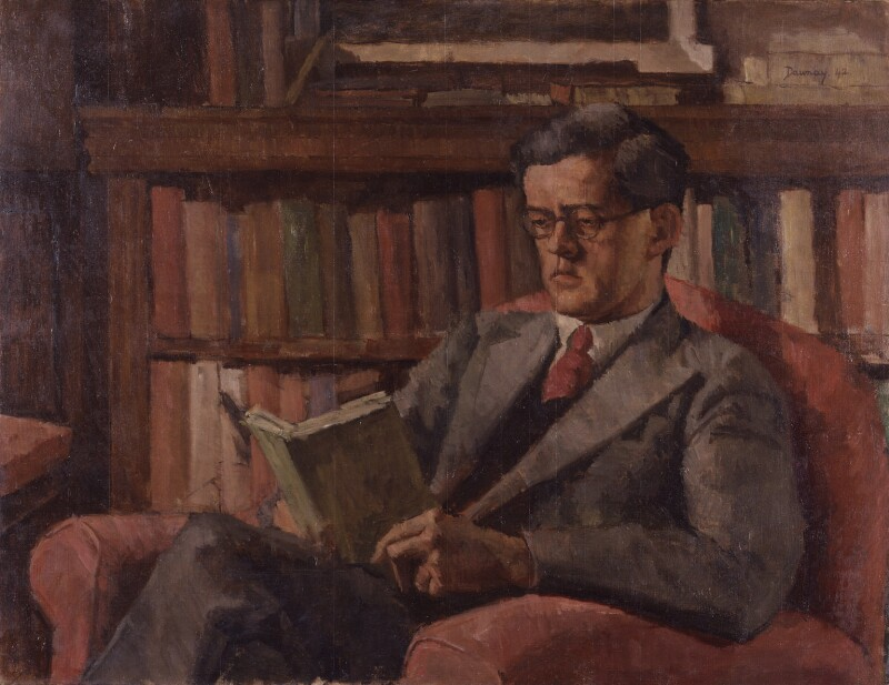 Alfred Leslie Rowse, by Denys Dawnay, 1942 - NPG 6421 - © National Portrait Gallery, London