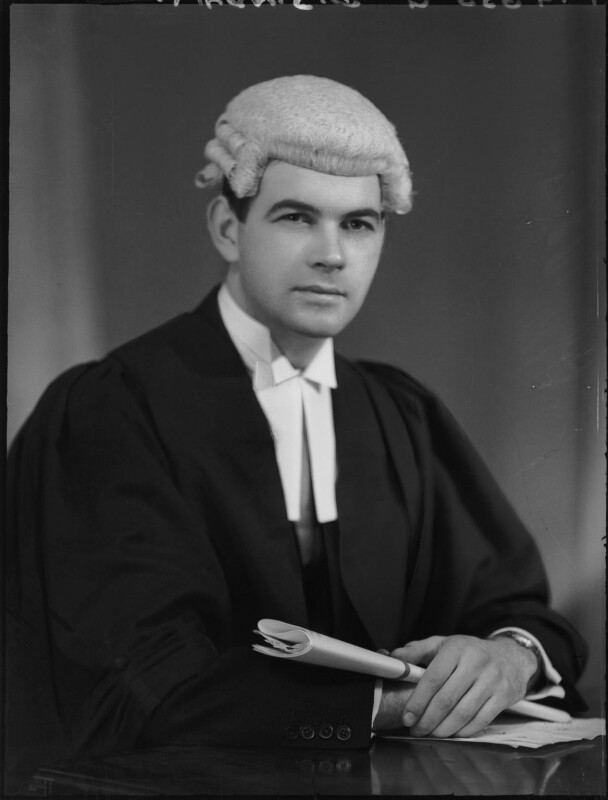 (David Stuart) Gordon Adam, by Elliott & Fry, 1951 - NPG x100391 - © National Portrait Gallery, London