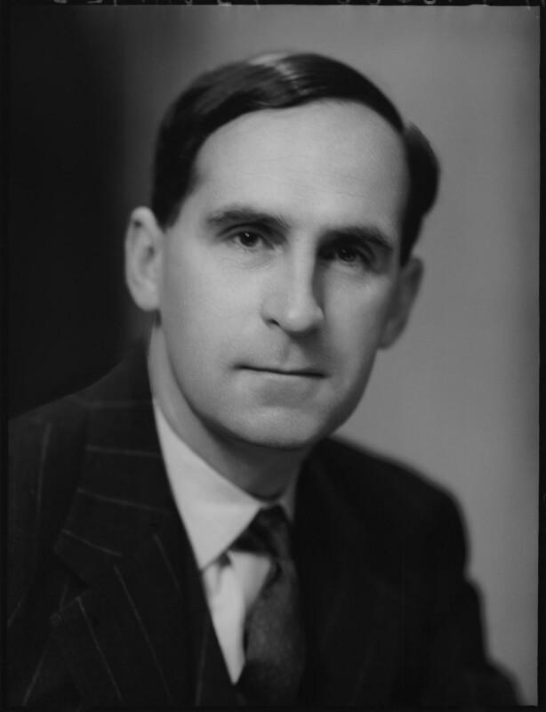 Philip Seaforth James, by Elliott & Fry, 28 April 1952 - NPG x100508 - © National Portrait Gallery, London