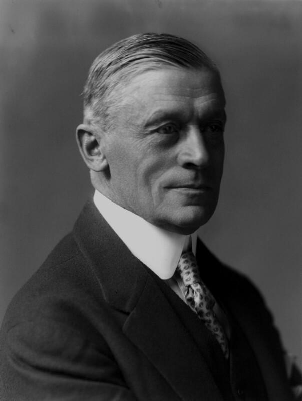 (Frederick) Leverton Harris, by Walter Stoneman, 1923 - NPG x162179 - © National Portrait Gallery, London
