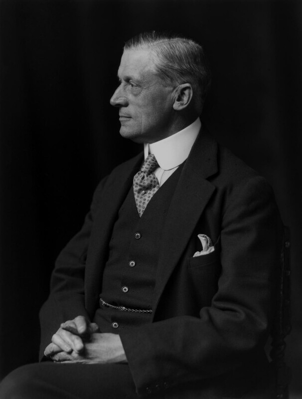 (Frederick) Leverton Harris, by Walter Stoneman, 1923 - NPG x162180 - © National Portrait Gallery, London