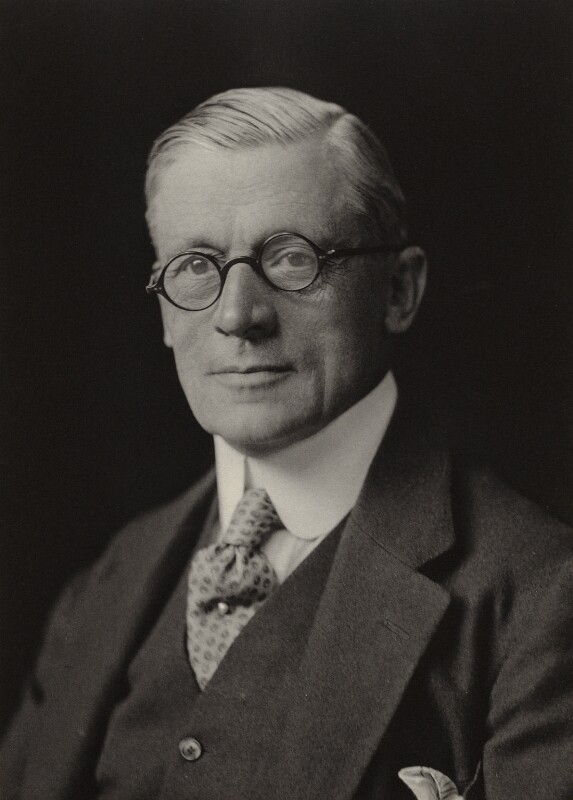 (Frederick) Leverton Harris, by Walter Stoneman, 1923 - NPG x162244 - © National Portrait Gallery, London
