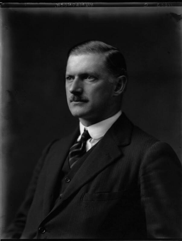 Victor Alexander Sereld Hay, 21st Earl of Erroll, by Walter Stoneman, 1924 - NPG x162262 - © National Portrait Gallery, London