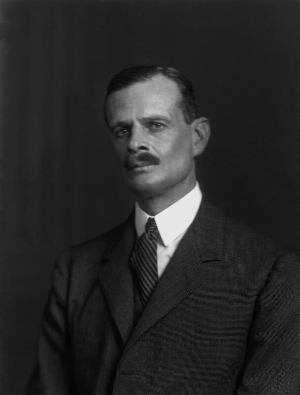 John Jacob Astor, 1st Baron Astor of Hever, by Walter Stoneman, 1924 - NPG x162334 - © National Portrait Gallery, London