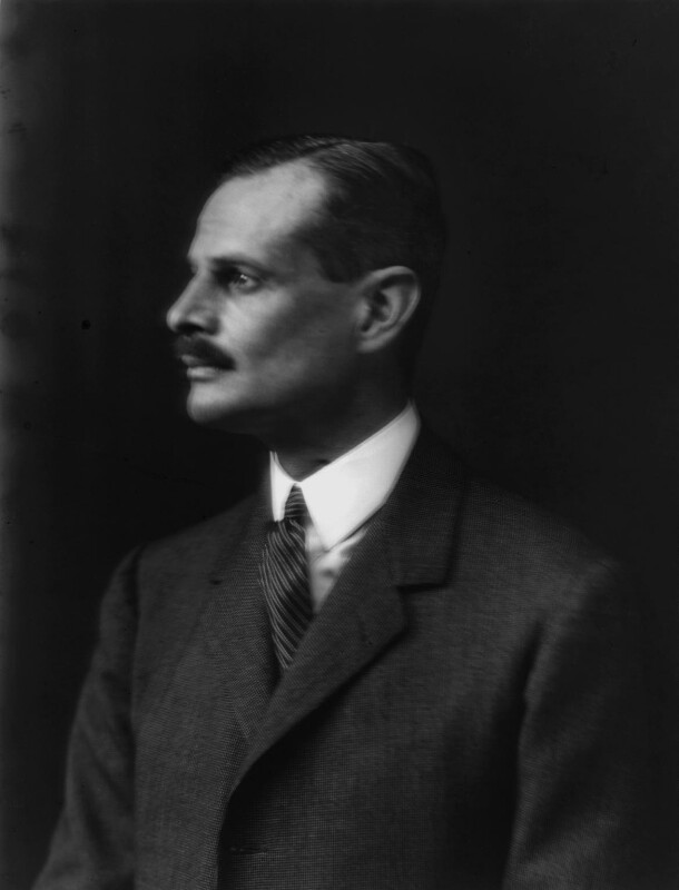 John Jacob Astor, 1st Baron Astor of Hever, by Walter Stoneman, 1924 - NPG x162338 - © National Portrait Gallery, London