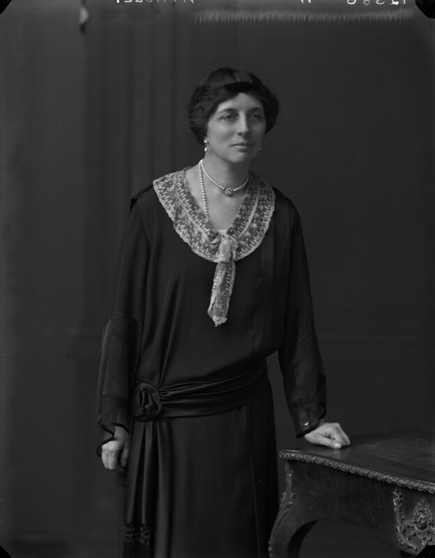 Katherine Marjory, Duchess of Atholl, by Walter Stoneman, 1925 - NPG x162355 - © National Portrait Gallery, London