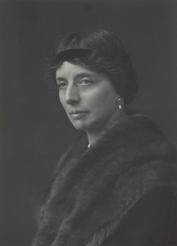Katherine Marjory, Duchess of Atholl, by Walter Stoneman, 1925 - NPG x162466 - © National Portrait Gallery, London