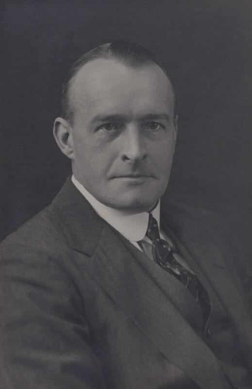 Sir (Alexander) Frederick Whyte, by Walter Stoneman, 1927 - NPG x162725 - © National Portrait Gallery, London