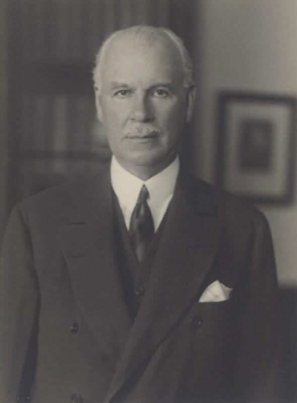 Edward William Macleay Grigg, 1st Baron Altrincham, by Walter Stoneman, August 1941 - NPG x163101 - © National Portrait Gallery, London