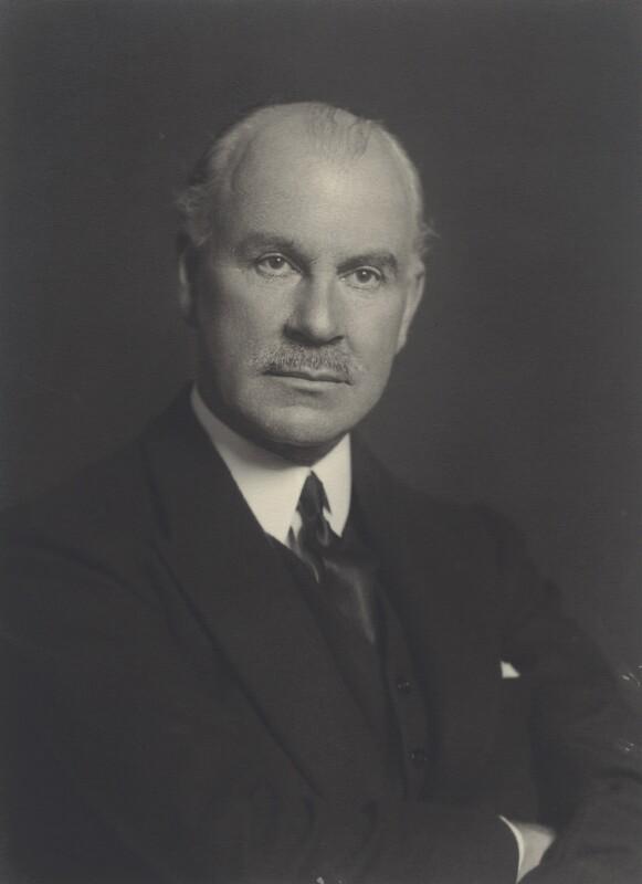 Edward William Macleay Grigg, 1st Baron Altrincham, by Walter Stoneman, 1931 - NPG x163102 - © National Portrait Gallery, London