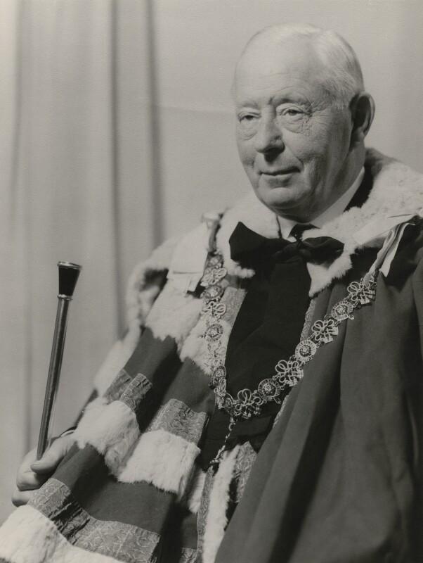 Bernard Marmaduke Fitzalan-Howard, 16th Duke of Norfolk, by Stephens Orr, 1969 - NPG x163113 - © National Portrait Gallery, London