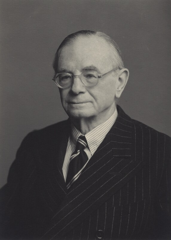 Leopold Stennett Amery, by Walter Stoneman, 1952 - NPG x163179 - © National Portrait Gallery, London