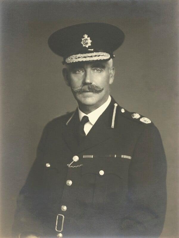 Sir George Abbiss, by Walter Stoneman, September 1942 - NPG x163380 - © National Portrait Gallery, London