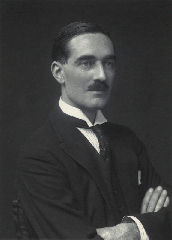Clarence Napier Bruce, 3rd Baron Aberdare, by Walter Stoneman, 1930 - NPG x163387 - © National Portrait Gallery, London