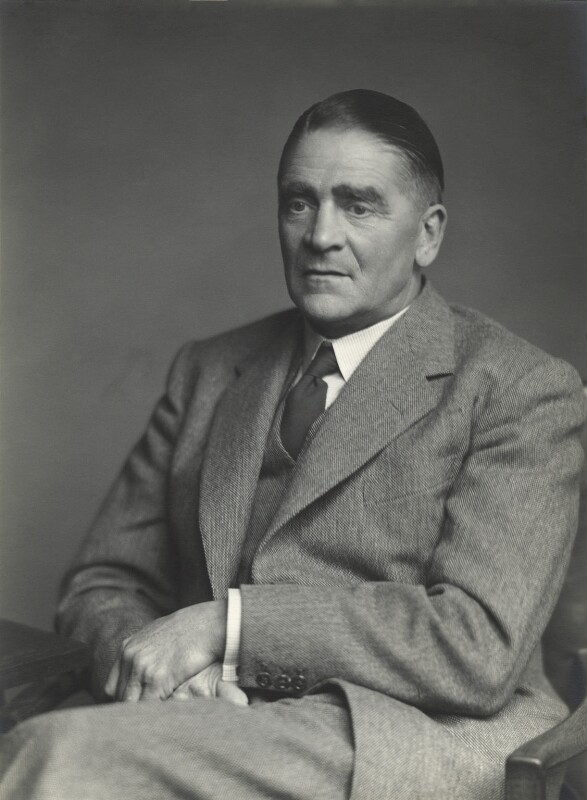 Sir William Ernest Victor Abraham, by Walter Stoneman, 1955 - NPG x163396 - © National Portrait Gallery, London