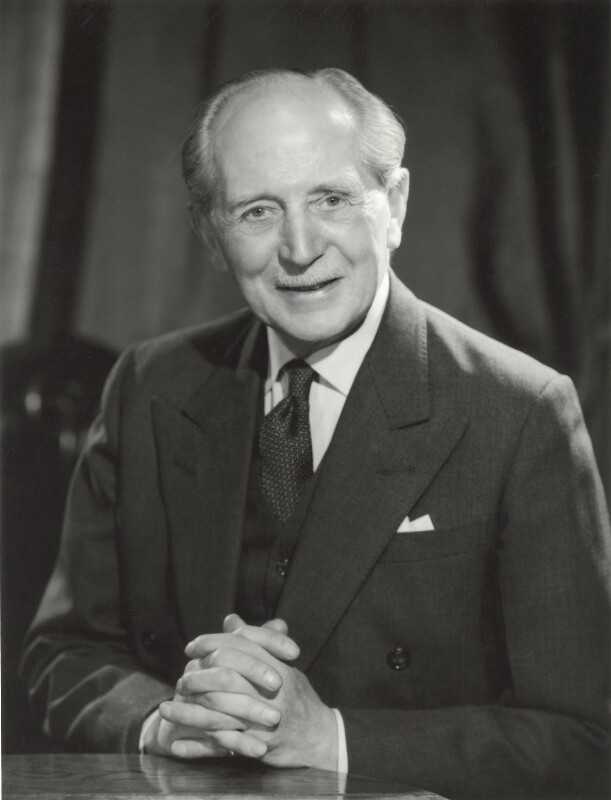 Sir Allan Henry Shafto Adair, by Walter Bird, 6 March 1967 - NPG x163405 - © National Portrait Gallery, London