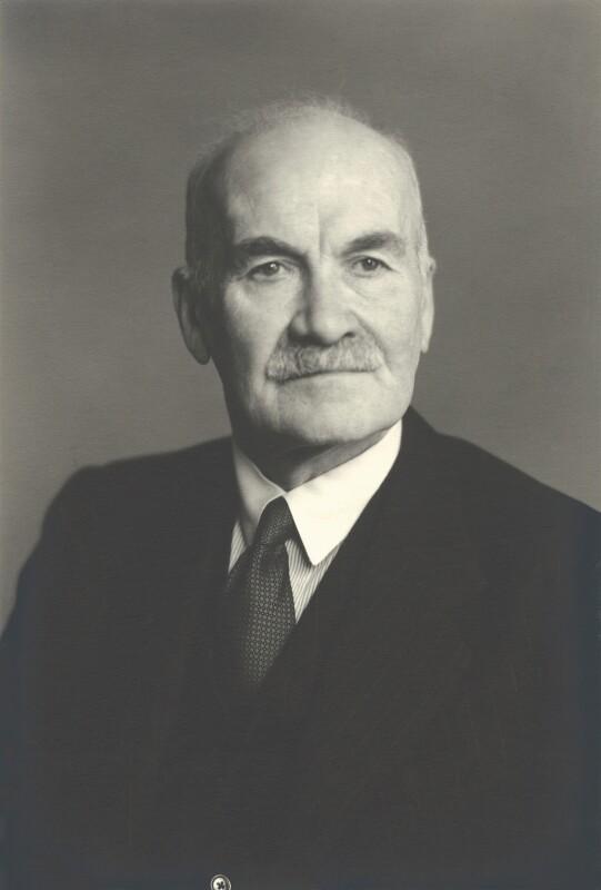 Sir Ronald Forbes Adam, 2nd Bt, by Walter Stoneman, 1953 - NPG x163409 - © National Portrait Gallery, London