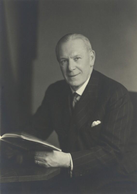 Sir Ernest Charles Adams, by Walter Stoneman, 14 January 1949 - NPG x163412 - © National Portrait Gallery, London