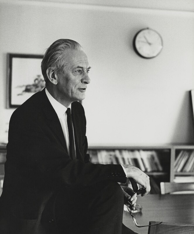 Sir Walter Adams, by Godfrey Argent, 1 July 1969 - NPG x163419 - © National Portrait Gallery, London
