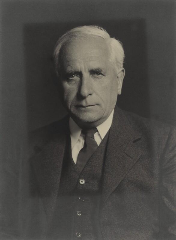 William George Stewart Adams, by Walter Stoneman, May 1940 - NPG x163420 - © National Portrait Gallery, London