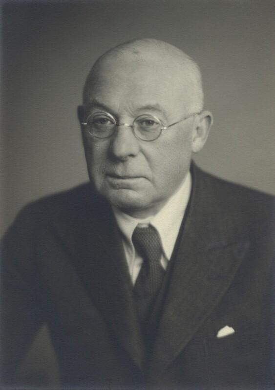 Sir Frank Ezra Adcock, by Walter Stoneman, January 1946 - NPG x163422 - © National Portrait Gallery, London