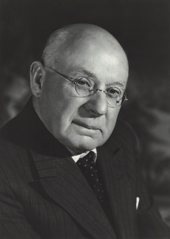 Sir Frank Ezra Adcock, by Walter Bird, 20 June 1961 - NPG x163423 - © National Portrait Gallery, London