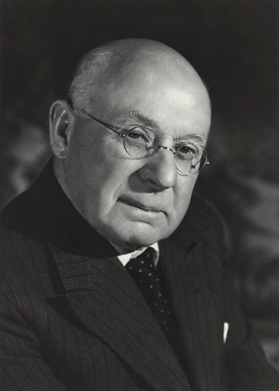Sir Frank Ezra Adcock, by Walter Bird, 20 June 1961 - NPG x163423 - © National Portrait Gallery, London