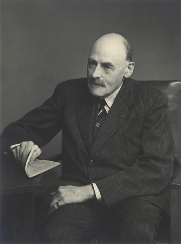 John Gellibrand Hubbard, 3rd Baron Addington, by Walter Stoneman, 13 October 1949 - NPG x163425 - © National Portrait Gallery, London