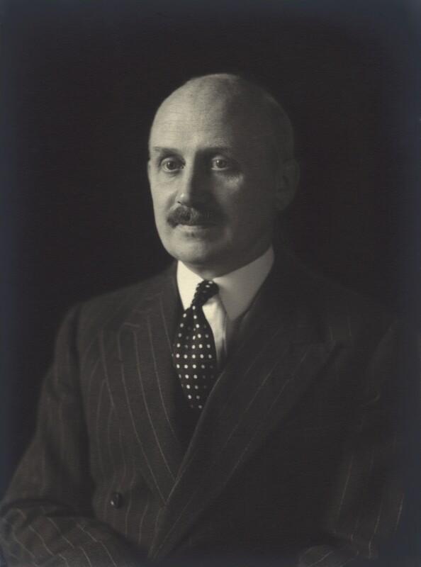 Michael Edward Adeane, Baron Adeane, by Walter Stoneman, 1953 - NPG x163431 - © National Portrait Gallery, London