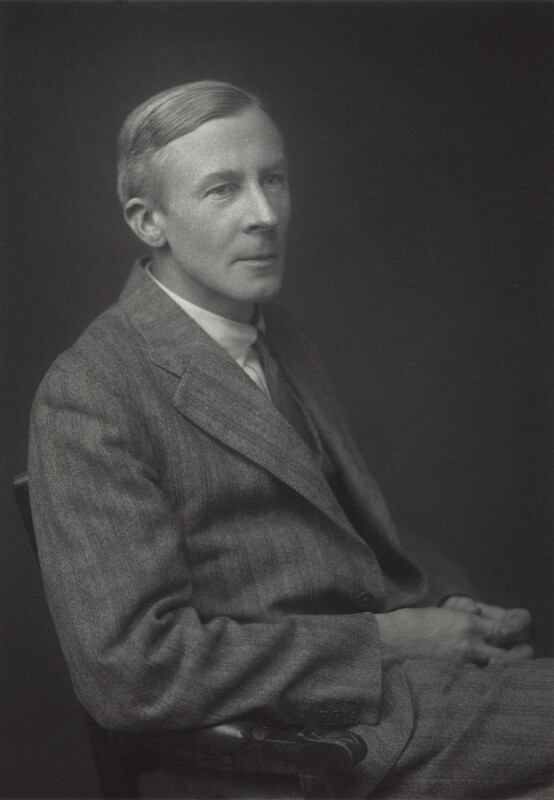 Edgar Douglas Adrian, 1st Baron Adrian, by Walter Stoneman, 1932 - NPG x163435 - © National Portrait Gallery, London