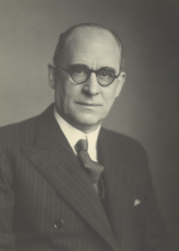 Sir Alexander Aikman, by Walter Stoneman, 1942 - NPG x163444 - © National Portrait Gallery, London