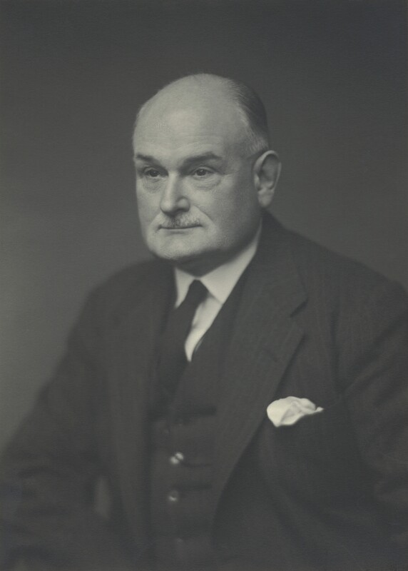 Sir Thomas Martland Ainscough, by Walter Stoneman, 6 November 1947 - NPG x163446 - © National Portrait Gallery, London