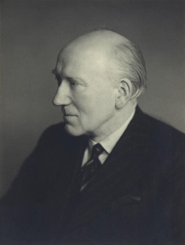 Sir Bronson James Albery, by Walter Stoneman, February 1949 - NPG x163461 - © National Portrait Gallery, London