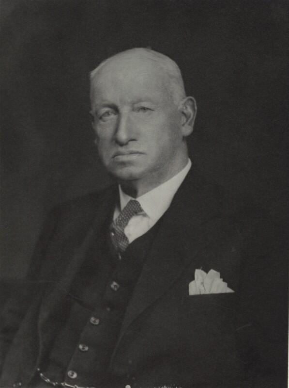 Sir Edward Hall Alderson, by Walter Stoneman, July 1935 - NPG x163467 - © National Portrait Gallery, London