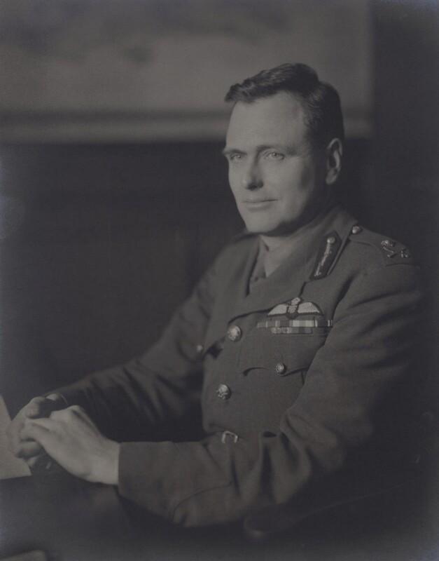 Sir (William) John Eldridge, by Walter Stoneman, February 1942 - NPG x163523 - © National Portrait Gallery, London
