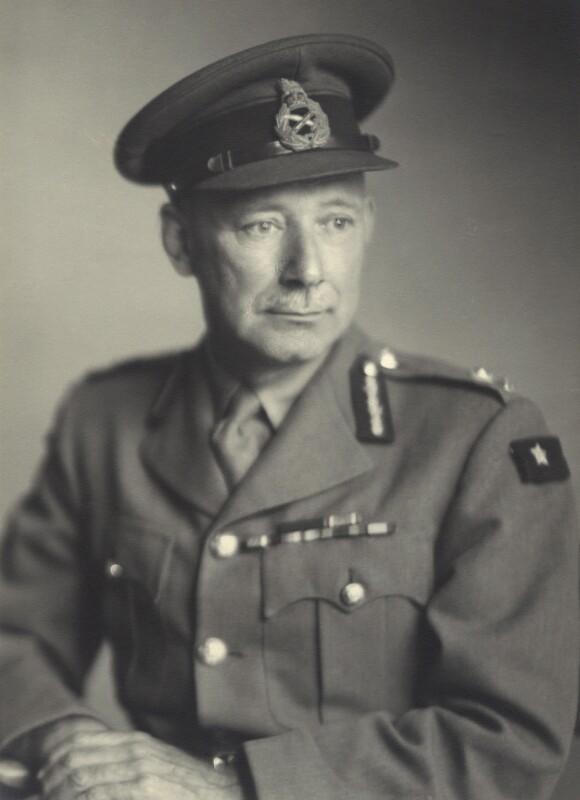 Frederick John Alfieri, by Walter Stoneman, June 1945 - NPG x163546 - © National Portrait Gallery, London
