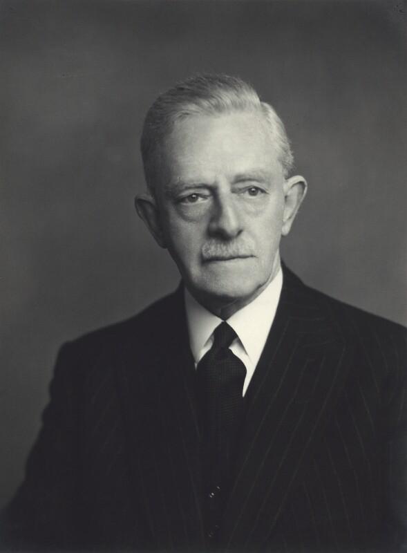 Sir Carleton Kemp Allen, by Walter Stoneman, 1955 - NPG x163552 - © National Portrait Gallery, London