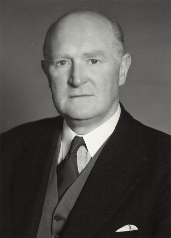 Sir Donald Richard Allen, by Walter Bird, 1957 - NPG x163554 - © National Portrait Gallery, London