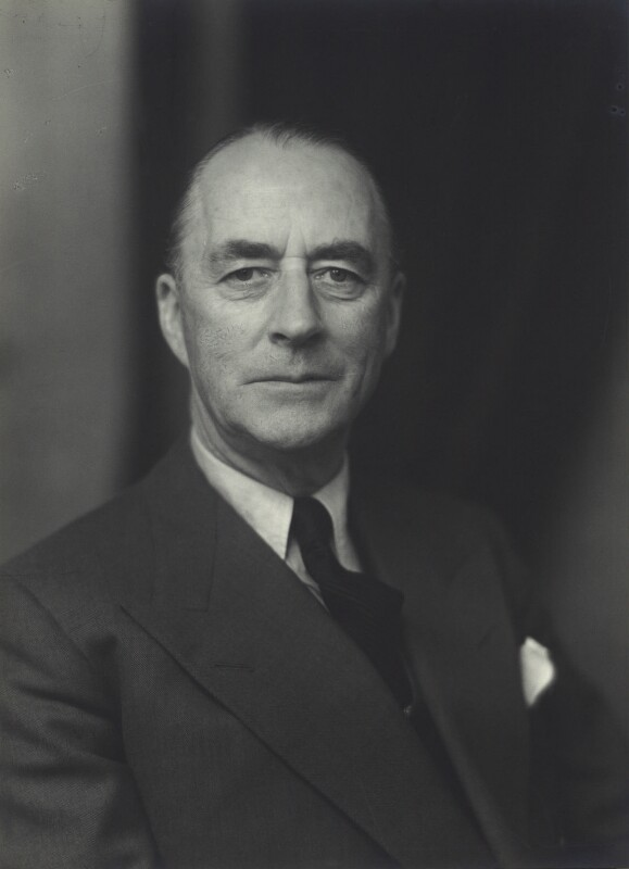 Sir (Albert) George Allen, by Walter Stoneman, 1955 - NPG x163557 - © National Portrait Gallery, London