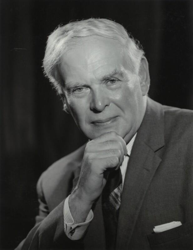 Sir George Cyril Allen, by Walter Bird, 9 August 1967 - NPG x163558 - © National Portrait Gallery, London