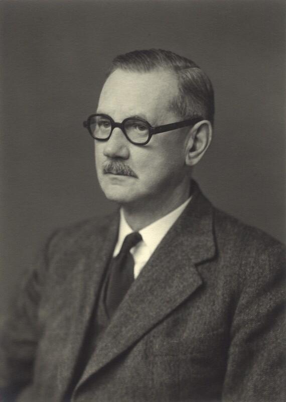 Sir George Vance Allen, by Walter Stoneman, 1954 - NPG x163559 - © National Portrait Gallery, London