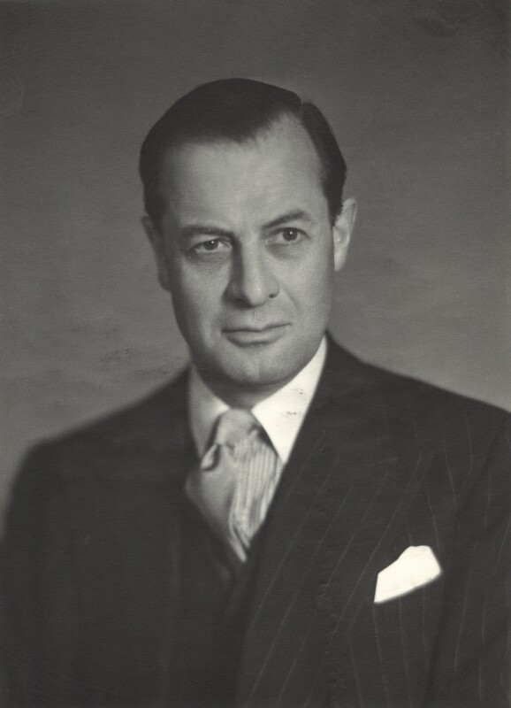 Sir Roger Allen, by Walter Stoneman, March 1957 - NPG x163564 - © National Portrait Gallery, London