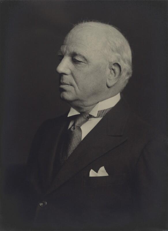 Sir Richard John Allison, by Walter Stoneman, January 1940 - NPG x163571 - © National Portrait Gallery, London