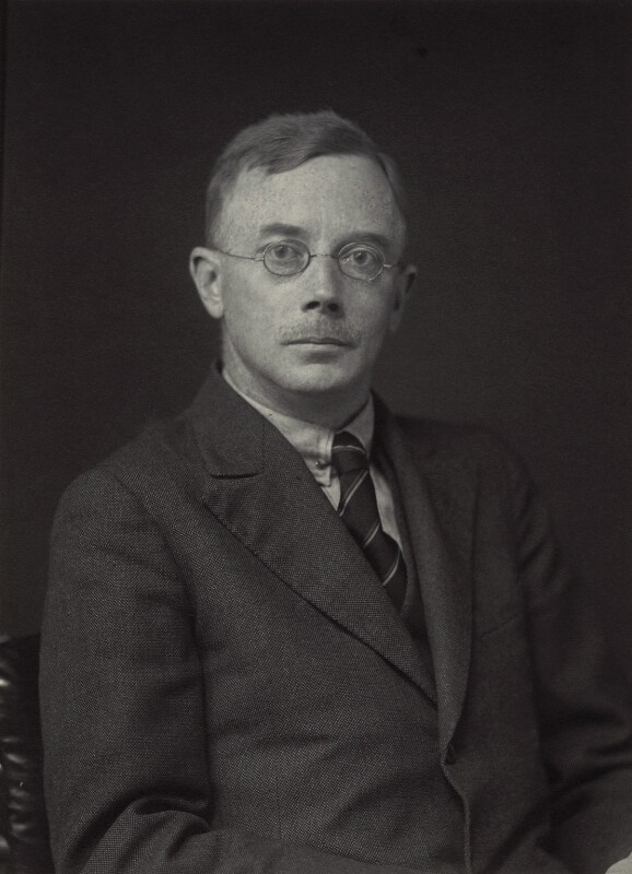 Arthur John Allmand, by Walter Stoneman, 1930 - NPG x163573 - © National Portrait Gallery, London